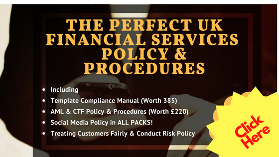 governance policies procedures processes uk financial services fca application